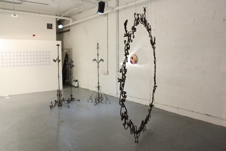 'Portal', sculptural installation by Meadhbh O'Connor 2015