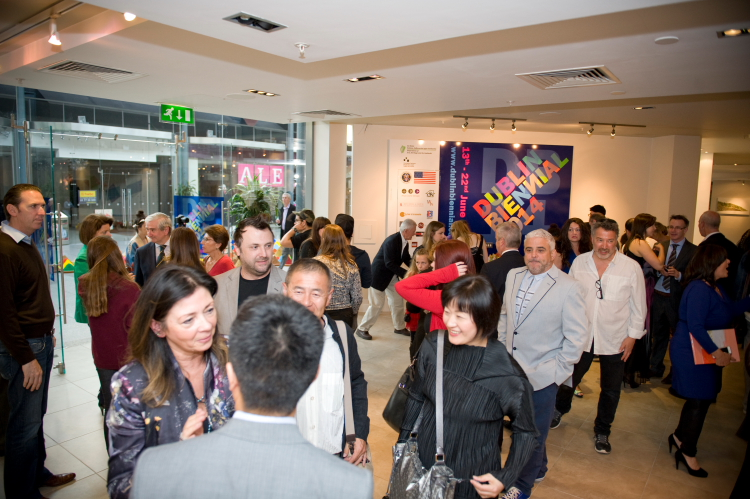 At the Official Openng of the Dublin Biennial, 2014. Image: Copyright Natalie Lim.