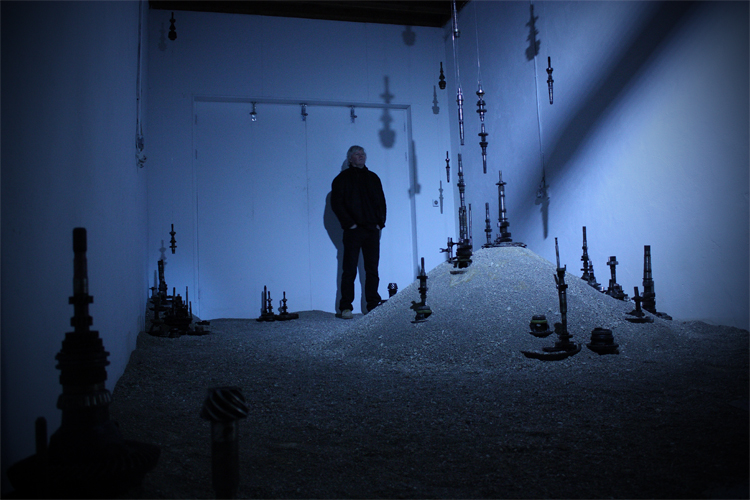 'Blackout', joint installation by Meadhbh O'Connor and Dave Madigan, 2012.