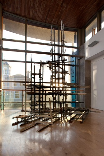 Gridlock, 2014. Joint sculpture by Dave Madigan and Meadhbh O'Connor.