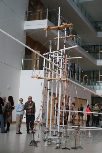 Meadhbh O'Connor, Unknown Shores, UCD Art in Science, UCD College of Science, installation art