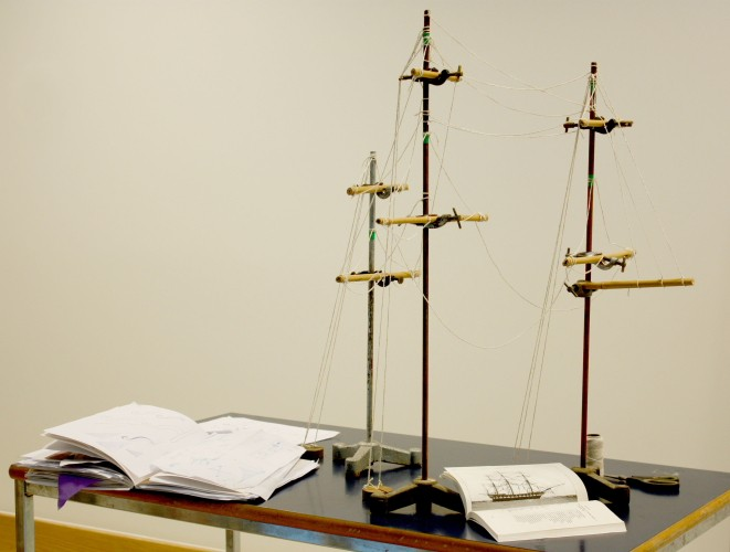 Model for the installation.
