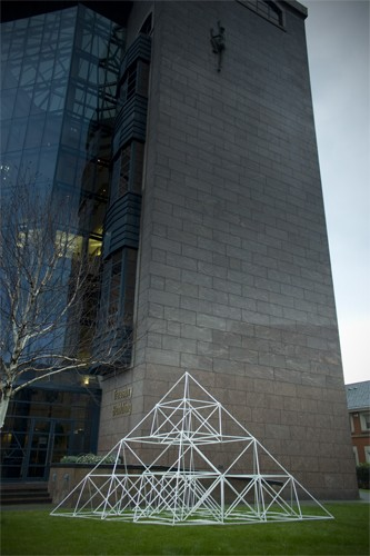 Méadhbh O'Connor and Dave Madigan, 'Power Structure'. At NAMA.
