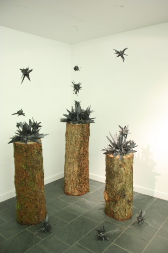 'Biosystem', international solo exhibition by Méadhbh O'Connor, Grizedale Sculpture, Lake District, United Kingdom. 2017.