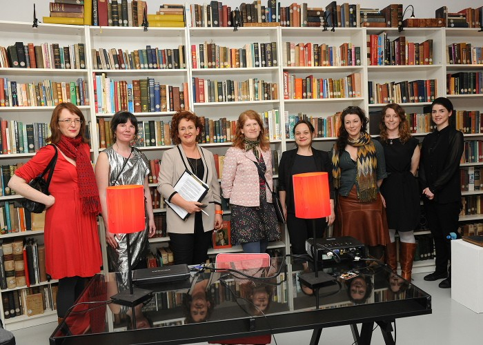 Participating artists in 'Things in Translation', the Highlanes Gallery, 2013