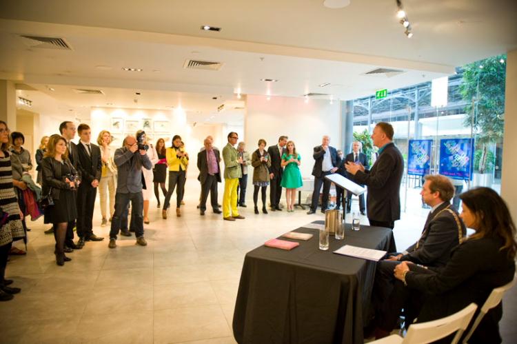 Dublin Biennial 2014 press launch