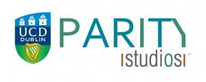 UCD Parity Studios logo for web
