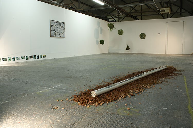 Meadhbh O'Connor, Geo-Strata, installaton art