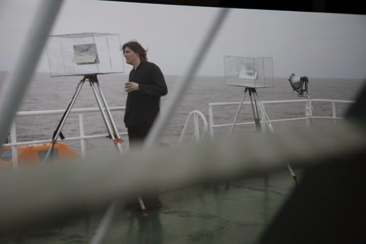 Antarctic Pavilion, 57th Venice Biennale of Art. General exhibition shot (detail). Photo: Emer O Boyle.